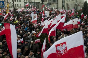 marsz w obronie